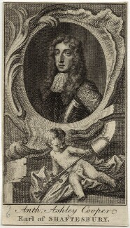 Anthony Ashley-Cooper, 1st Earl of Shaftesbury, after Sir Peter Lely - NPG D29850