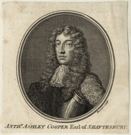 Anthony Ashley-Cooper, 1st Earl of Shaftesbury, by Guillaume Philippe Benoist - NPG D29852