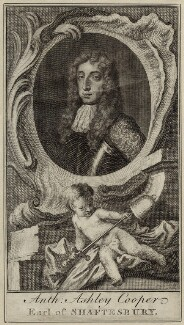 Anthony Ashley-Cooper, 1st Earl of Shaftesbury, after Sir Peter Lely - NPG D29854