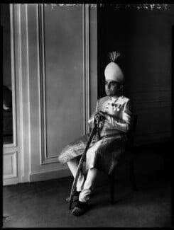 Nawab Azam Jah, Prince of Berar, by Bassano Ltd - NPG x152956