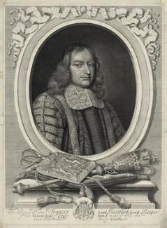 Francis North, 1st Baron Guilford, by David Loggan - NPG D29859