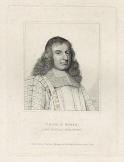 Francis North, 1st Baron Guilford, after David Loggan - NPG D29860