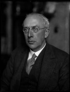Sir Owen St Clair O'Malley, by Bassano Ltd - NPG x152978