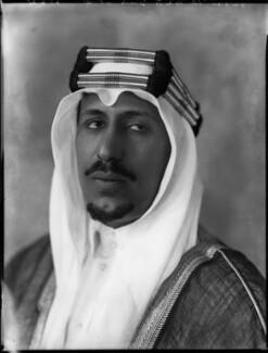 Saud bin Abdul Aziz, King of Saudi Arabia, by Bassano Ltd - NPG x152981