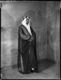 Saud bin Abdul Aziz, King of Saudi Arabia, by Bassano Ltd - NPG x152983