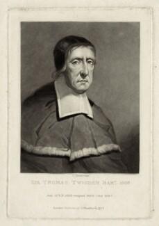 Sir Thomas Twisden, 1st Bt, by Charles Turner - NPG D29883