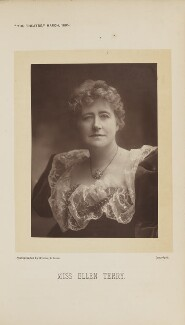 Ellen Terry, by Window & Grove - NPG Ax28875
