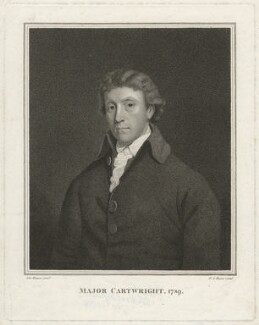 John Cartwright, by Georg Siegmund Facius, after  John Hoppner - NPG D32719