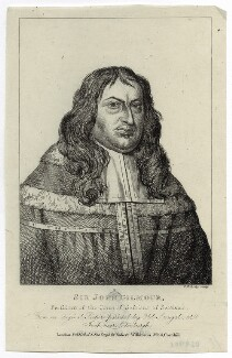 Sir John Gilmour of Craigmillar, by Charles Reuben Ryley (Riley), published by  Robert Wilkinson - NPG D29901