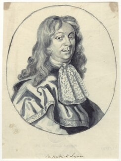 Sir Patrick Lyon of Carse, after Robert White - NPG D29903