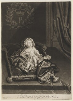 Prince James Francis Edward Stuart, by and published by John Smith, after  Sir Godfrey Kneller, Bt - NPG D32651