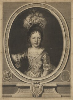 Prince James Francis Edward Stuart, by Gérard Edelinck, after  Nicolas de Largillière - NPG D32655
