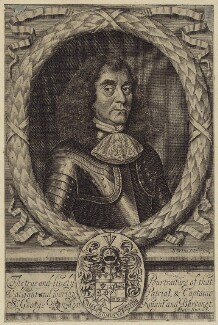 Sir George Rawdon, 1st Bt, by Robert White - NPG D29922