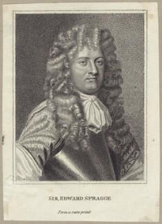Sir Edward Spragge, after Unknown artist - NPG D29926
