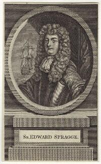 Sir Edward Spragge, after Unknown artist - NPG D29928