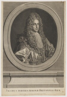 Prince James Francis Edward Stuart, by Louise Madeleine Cochin (née Horthemels), after  Alexis Simon Belle - NPG D32659