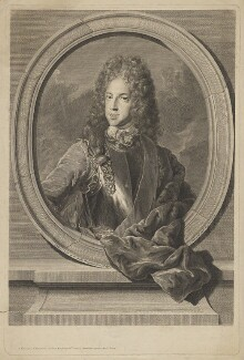 Prince James Francis Edward Stuart, by François Chéreau the Elder, after  Alexis Simon Belle - NPG D32660