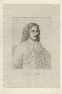 Sir George Ayscue, by Robert Cooper, after  Unknown artist - NPG D29933