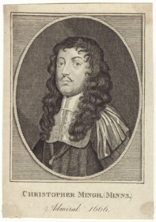 Sir Christopher Myngs, after Unknown artist - NPG D29943