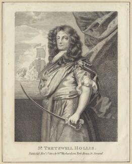 Sir Frescheville Holles, after Sir Peter Lely, published by  William Richardson - NPG D29947