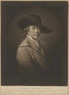 Joseph Wright, by James Ward, after  Joseph Wright, published 1807 - NPG D32725 - © National Portrait Gallery, London