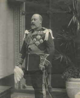 King Edward VII, by Percy Lewis Pocock, for  W. & D. Downey - NPG x1576