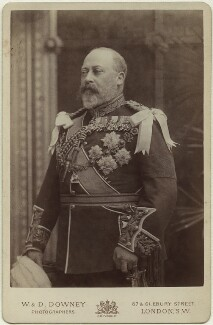 King Edward VII, by Percy Lewis Pocock, for  W. & D. Downey - NPG x1575