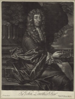 Sir John Lowther, 2nd Bt, by Alexander Browne, after  Sir Peter Lely - NPG D29959