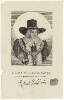 Robert Tichborne, after Unknown artist - NPG D29968