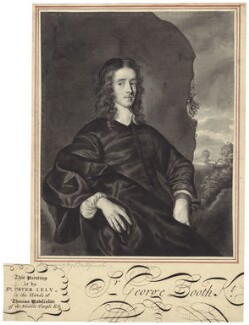 George Booth, 1st Baron Delamer, by John Bulfinch, after  Sir Peter Lely - NPG D29970