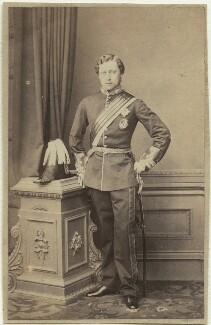 King Edward VII when Prince of Wales, by John Jabez Edwin Mayall - NPG x12784