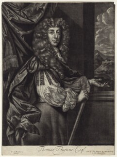 Thomas Thynne, published by Alexander Browne, after  Sir Peter Lely, circa 1684 - NPG D29979 - © National Portrait Gallery, London