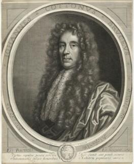 Sir John Cotton, 3rd Bt, by Peter Vanderbank (Vandrebanc), after  Sir Godfrey Kneller, Bt - NPG D29982