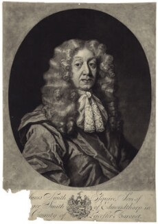 Erasmus Smith, by George White, after  Unknown artist - NPG D29990