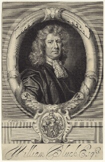 William Bluck, by Robert White, after  Sir Godfrey Kneller, Bt - NPG D29994
