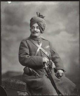Sir Pertab Singhji, Maharaja of Idar and Regent of Jodhpur, by Vandyk - NPG x130799