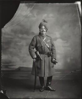 Sir Pertab Singhji, Maharaja of Idar and Regent of Jodhpur, by Vandyk - NPG x129675