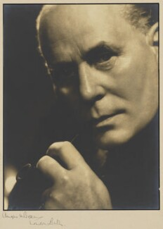 James Evershed Agate, by Angus McBean - NPG P1298
