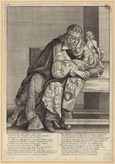 Thomas Killigrew, by William Faithorne, after  William Sheppard - NPG D30004