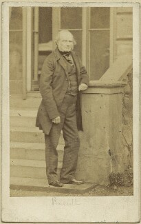 John Russell, 1st Earl Russell, by Caldesi, Blanford & Co, early 1860s - NPG x15128 - © National Portrait Gallery, London