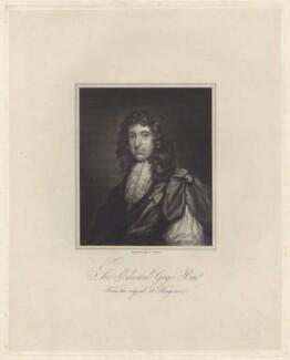 Sir Edward Gage, Bt, by R. Cooper - NPG D30013