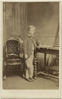 François Louis Philippe Marie d'Orléans, Duke of Guise, by Ferdinand Jean de la Ferté Joubert - NPG x19961