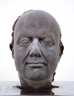 Marc Quinn ('Self'), by Marc Quinn, 2006 - NPG  - © Marc Quinn. Photo: Marc Quinn studio. Courtesy: Marc Quinn studio