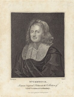 William Chiffinch, by R. Clamp, published by  E. & S. Harding, after  Silvester (Sylvester) Harding - NPG D30015