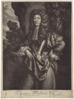 Thomas Windham, after Sir Ralph Cole, published by  Richard Tompson - NPG D30016