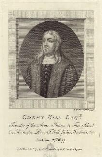 Emery Hill, by Thomas Trotter - NPG D30017