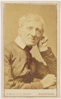 John Newman, by Robert White Thrupp, 1866 - NPG x32956 - © National Portrait Gallery, London