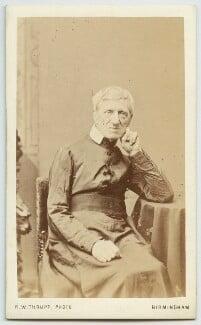 John Newman, by Robert White Thrupp, 1866 - NPG x21523 - © National Portrait Gallery, London