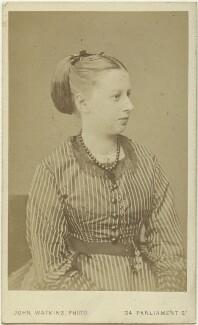 Lady (Mary) Agatha Russell, by John Watkins - NPG x22130