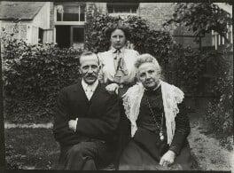 Albert Edward Broom; Winifred Margaret Broom; possibly Jane Broom (née Cosby), possibly by Mrs Albert Broom (Christina Livingston) - NPG x131431